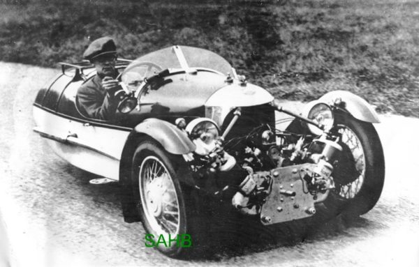 Readily Identifiable As A Morgan Three Wheeler The Engine Offers Something Of Surprise It Is Not One Usually Seen Or Matchless V Twin