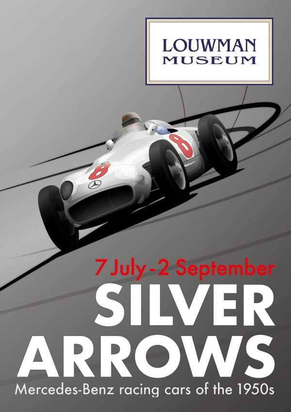 Silver Arrows: Mercedes-Benz Racing Cars of the 1950s – at the ...